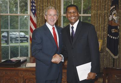 Photo of Mr. Ambassador: Rider grad is Liberia's rep in U.S.