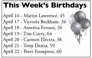 Photo of This Week's Birthdays