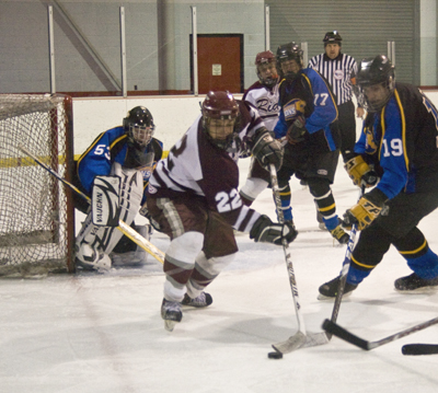 Photo of Hockey falls in faceoff against conference rival