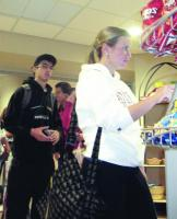 Photo of Kiosks serve up fries, long lines