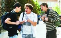 Photo of Three 'super' geeks evoke memories of high school