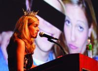 Photo of Miss N.J.: Blackmail threats were 'nasty' tactics