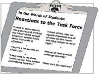 Photo of In the Words of Students: Reactions to the Task Force