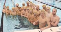 Photo of Swimmers and divers sport new 'do for MAACs