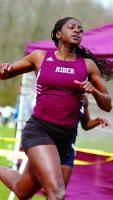 Photo of Cureton is now the holder of every Rider record in short hurdle events