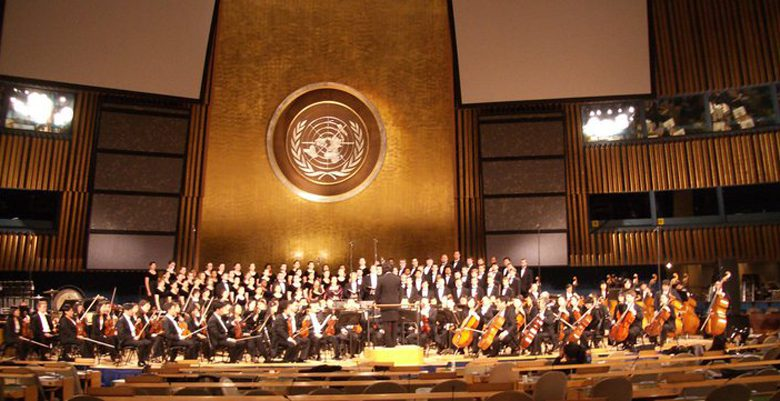 Photo of Westminster Choir shares its music with the world