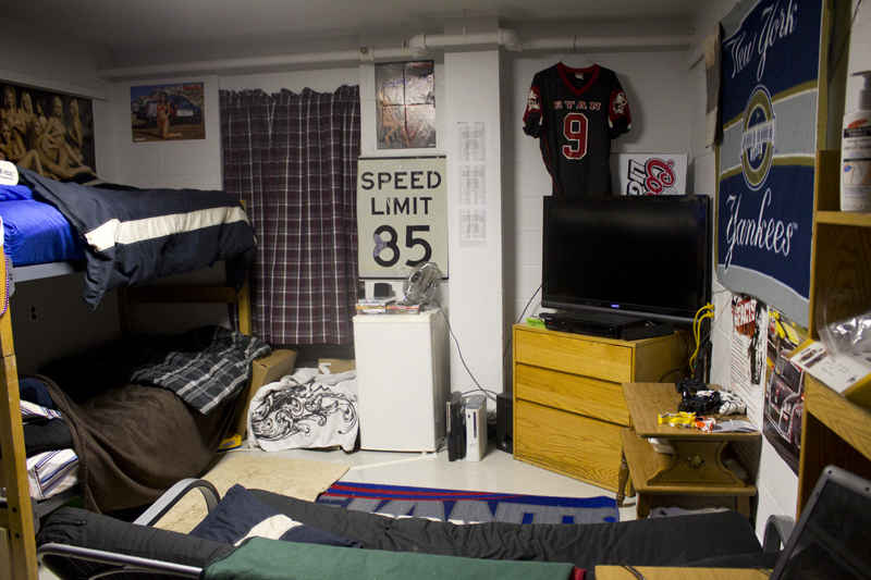 Man Cave Dorm Room : Cribs decked out dorms at rider the news