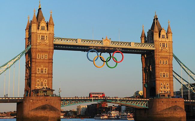 Photo of Dr. Millen's thoughts about the London Olympics