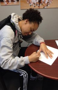 Senior guard MyNeshia McKenzie signs with a Spanish agency in hopes of playing professionally overseas.