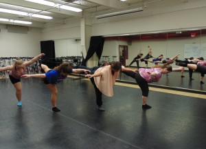 RDE performers have been rehearsing since February for their upcoming show RDE Presents: Wherever You Will Go.