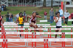 Sophomore hurdler Dashana Ransome qualified for ECACs in the 100-meter hurdles at Princeton.
