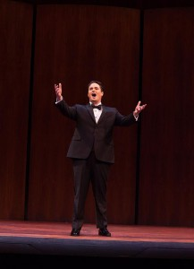 Rexford Tester, a second year graduate student at Westminster Choir College, made it to the final round of auditions for the 2013-2014 Metropolitan Opera National Council Audition.