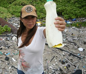 Angela Sun, producer and director of Plastic Paradise, sets out to illustrate how much plastic has begun to consume our planet.