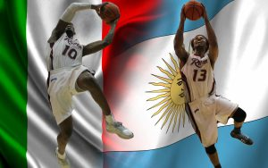 Anthony Myles, '14, left, and Daniel Stewart, '14, will play in Italy and Argentina, respectively.
