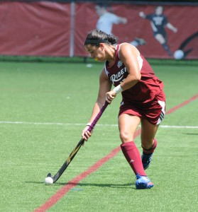 Melyssa Alonso scored the lone goal in the 1-0 win on Oct. 17.