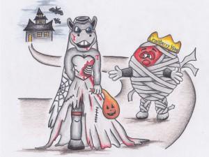 Halloween Bronc