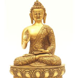brass buddha statue401
