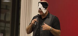 Hypnotist Robert Channing stunned the audience of students on Oct. 18 with his talents to read minds and make predictions. Students were enchanted by his astounding act and ability to entertain a crowd.