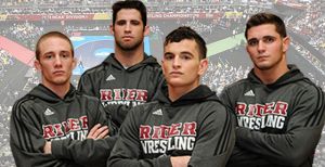 From left, junior Robert Deutsch, senior Clint Morrison, senior Chuck Zeisloft and junior Conor Brennan all competed at Nationals last season.