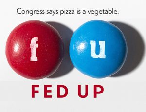 Fed Up, this month's green film, exposes the disturbing truths behind the food we eat. The film was shown on Nov. 11 and will be played again on Nov. 19 at 7 p.m. in Sweigart Auditorium.