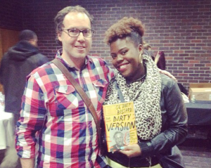 Mickey Hess celebrated the release of his book, The Dirty Version: On Stage, in the Studio, and in the Streets with Ol' Dirty Bastard, on Nov. 8 in Brooklyn with Taniqua Jones, Ol' Dirty Bastard's daughter.