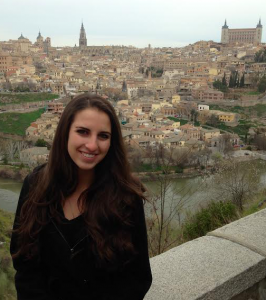 Emilie Petry explored the many sites of Spain, including Toledo.