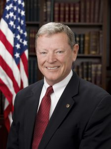 Senator Jim Inhofe of Oklahoma, who voted against the amendment.