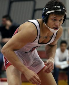 B.J. Clagon, a 149-pound freshman, won matches against both Drexel and Cleveland State on Feb. 6 and 7, respectively.