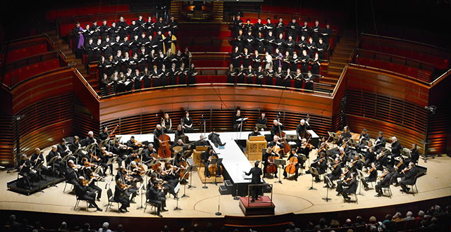 Photo of Westminster brings 'passion' to show with Philadelphia orchestra