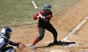 Senior shortstop Gina McCool went 3 for 5 in two games against Villanova on April 9.
