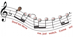 "Josettee Spencer's walk-up song is ""Uptown Funk."""