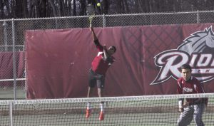 Agaazi Berhane and Jeremy Van Herwarde won in third doubles against Siena on April 19.