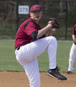 Pitcher Zach Mawson shut out Iona in six innings on April 25.