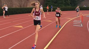 Senior Emily Ritter broke a personal record and qualified for the ECAC, in the 3,000-meter.