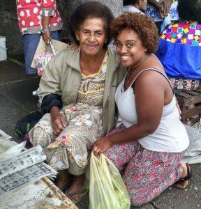 Dana Bernardo shops and meets locals in the villages of Fiji.