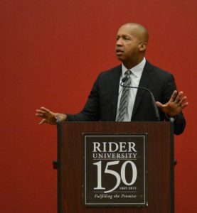 Bryan Stevenson spoke about his experiences with racial injustice at the Unity Day keynote on Oct. 14.