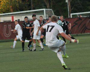 Junior midfielder Christian Flath scored twice against Fairfield.