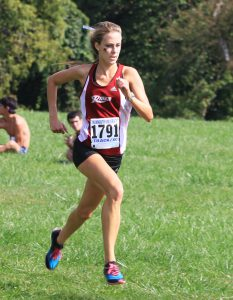 Senior Emily Ritter placed fourth at the ECAC Championships.