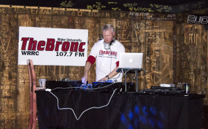 DJ Mike B performed live at the Electric Jungle on Feb. 20.