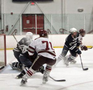 Senior forward Pat Grilli scored the opening goal against Marist.