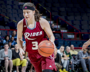 Sophomore guard Kamila Hoskova had 26 points and seven rebounds in a loss to Siena on March 3.
