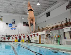 """Freshman Joseph Warker qualified for the NCAA Zone """"A"""" Championships at the ECAC on Feb. 28."""