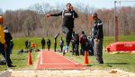 Junior Kyle Bryant won the triple jump and competed in the javelin throw at the Rider Invitational.