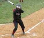 Senior Emily Cottrell picked up her 100th career hit on April 17.