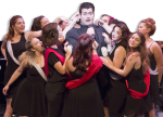 """Junior theater major Matthew Woodside portrays his character in Rider's production of the Pulitzer Prize-winning musical """"Of Thee I Sing.""""  The musical's preview performance will take place on Wednesday, Sept. 28 at 7:30 p.m. in the Yvonne Theater."""
