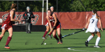 Freshman midfielder Daane Koch, coming off MAAC Offensive Player of the Week recognition, scored two goals at Columbia. Her team lost in overtime, 3-2.