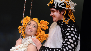 Photo of Crowd captivated by comedic Czech opera