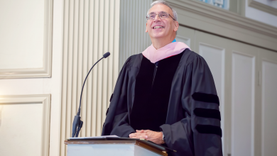 Photo of New dean sees promise in performing arts