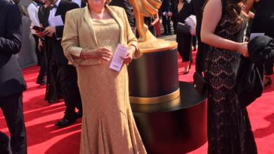 Photo of Starstruck professor attends  annual Emmy Awards in LA
