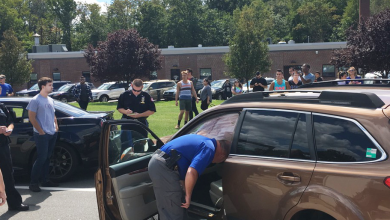 Photo of Student arrested after crashing professor's car